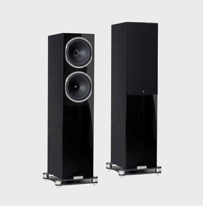 Fyne Audio F502SP Pianoglans zwart