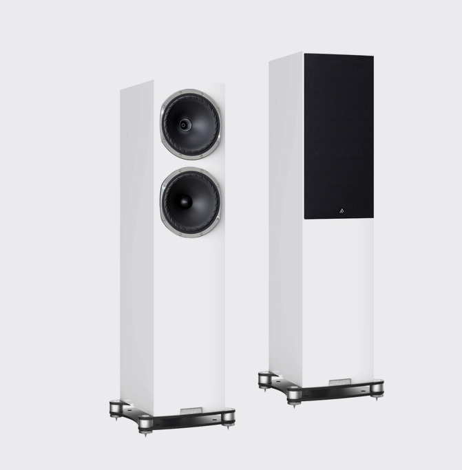 Fyne Audio F502SP Pianoglans wit