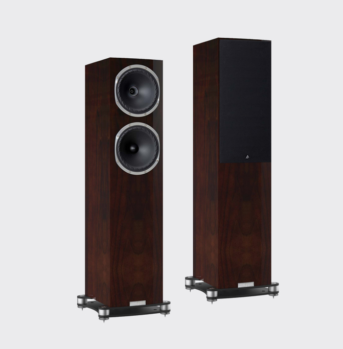 Fyne Audio F502SP Pianoglans walnoot